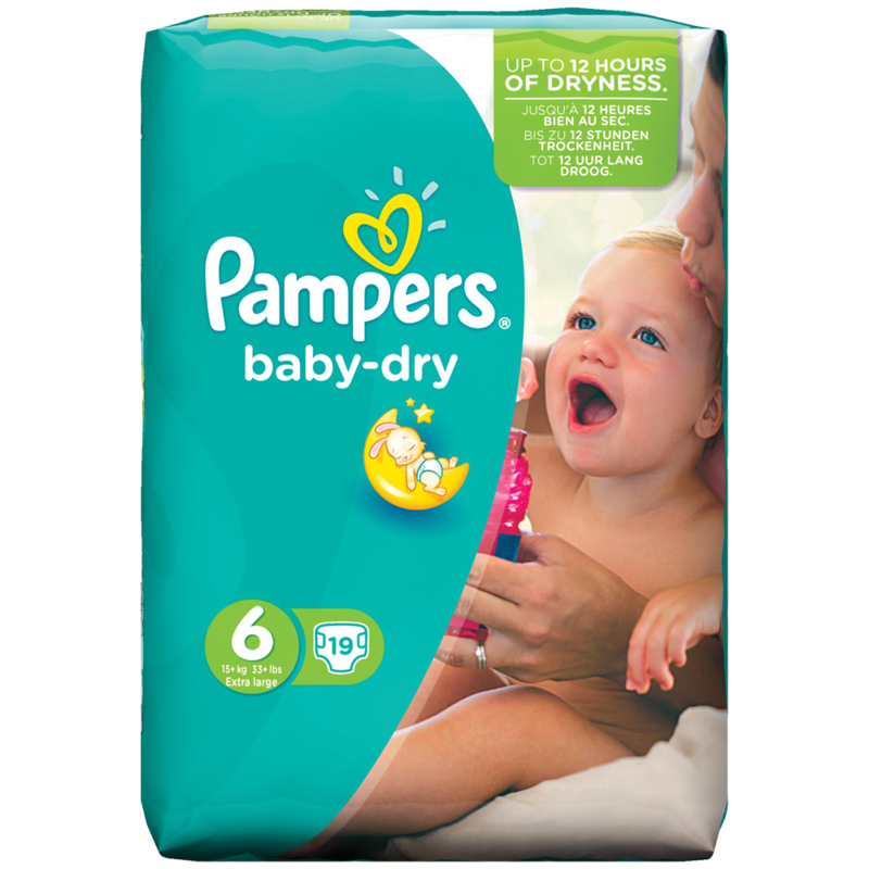 Pampers baby dry 19pack