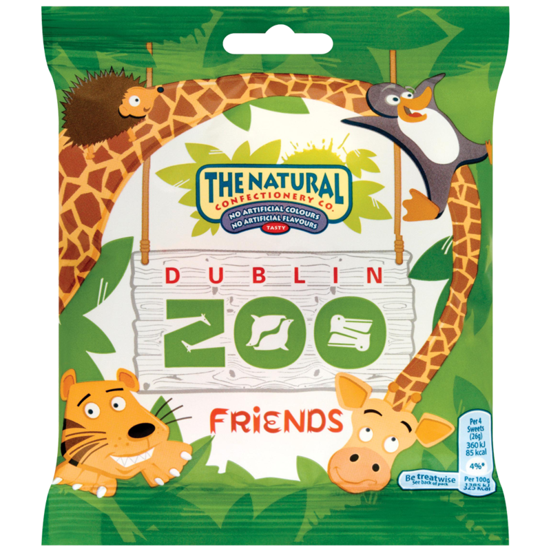 The natural confectionary zoo friends