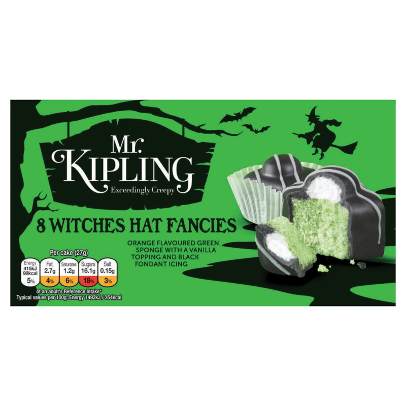 Mr. Kipling Exceedingly Creepy 8 Witches Hat Fancies