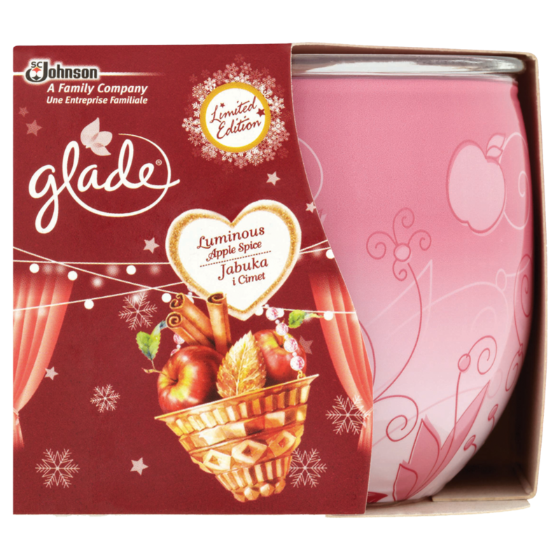 Glade luminous apple spice