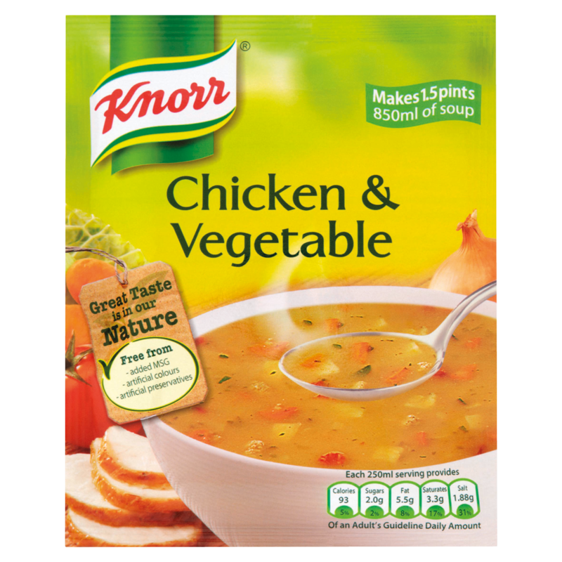 Knorr Chicken   Vegetable Soup 68g
