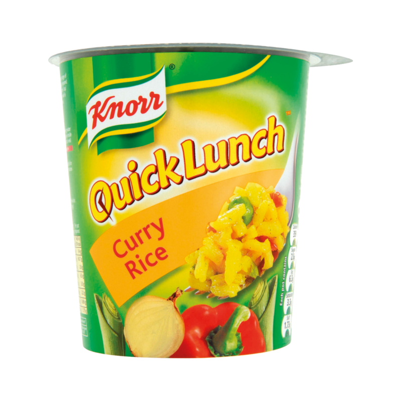 Knorr Quick Lunch Curry Rice 96g