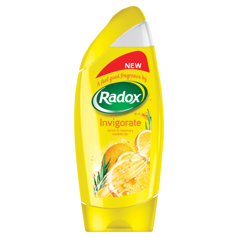 Radox Feel Invigorated Shower Gel 250ml
