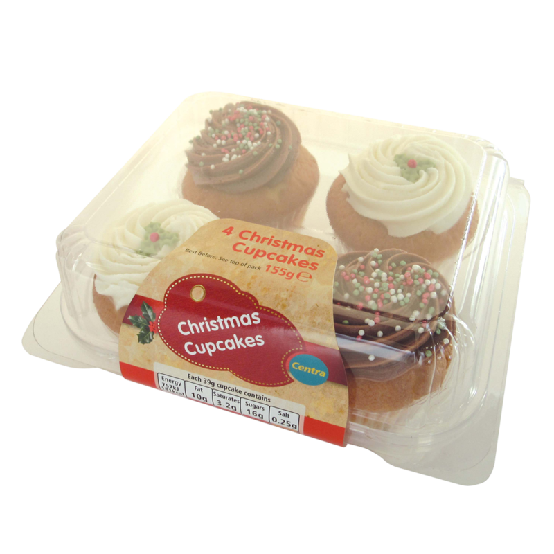 CT christmasCupCakes 4pk