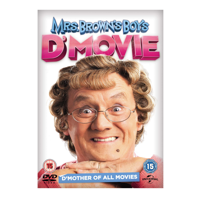 DVD MrsBrownsBoys D Movie