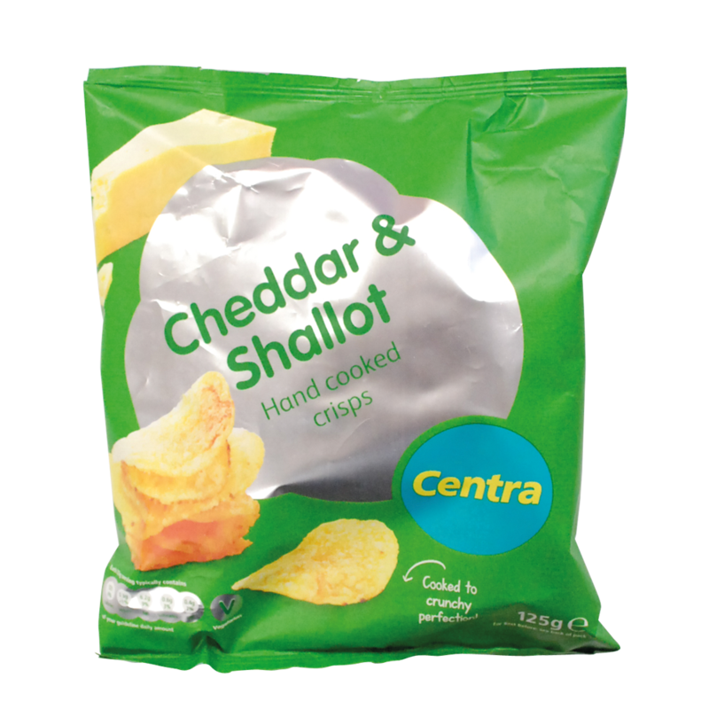 CT CheddarShallotCrisps 125g
