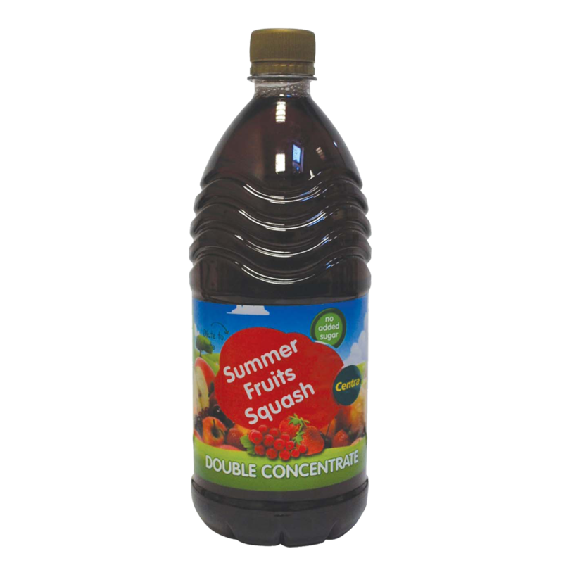 CT squashDoubleConcentrate summerFruits 1ltr
