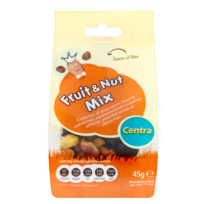 Centra Fruit   Nut Mix 45g