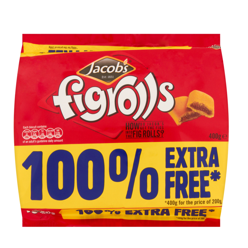 Jacob s Fig Rolls 400g