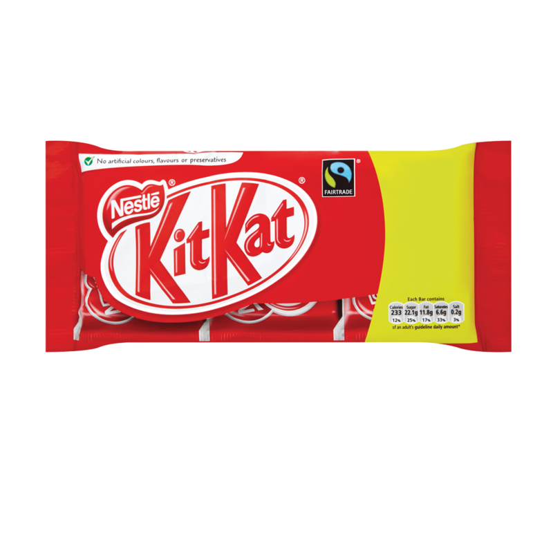 Kit Kat 4 Finger Fairtrade Multipack 3 x 45g
