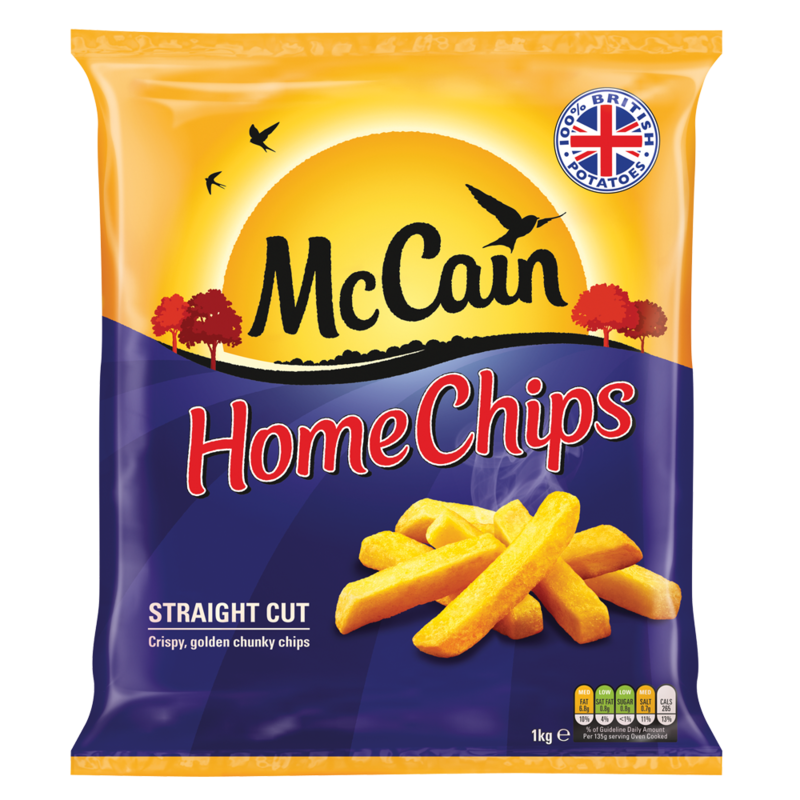 McCain Home Chips Straight Cut 1kg