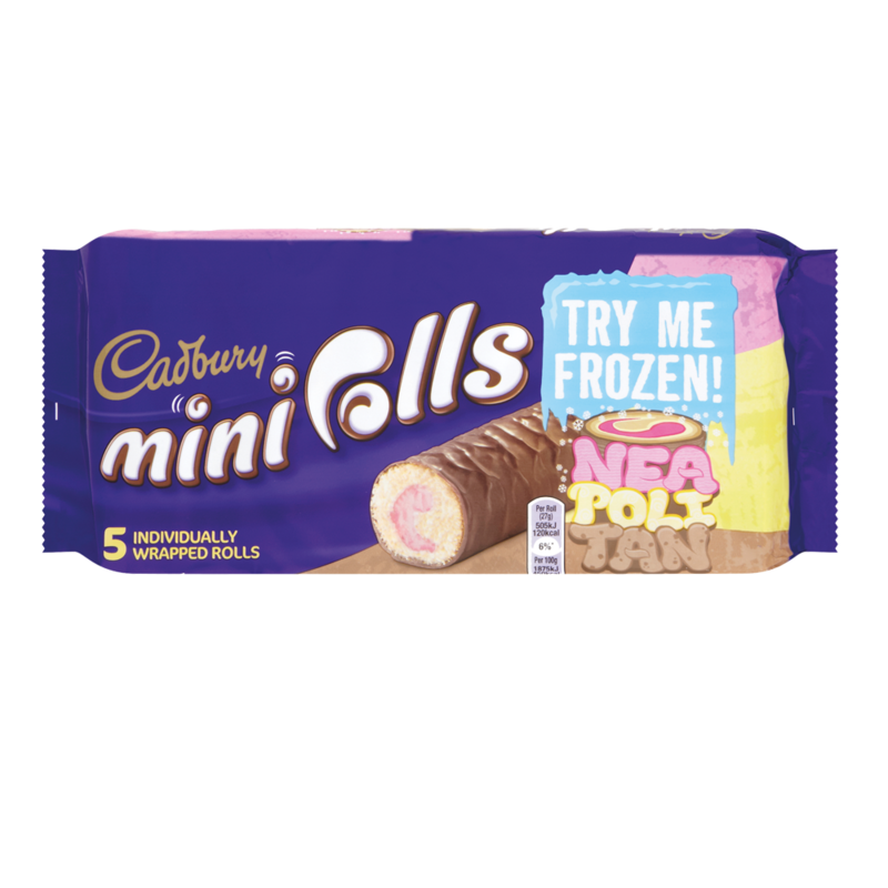 Cadbury ice cream mini roll